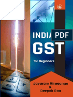 India GST for Beginners - Jayaram Hiregange
