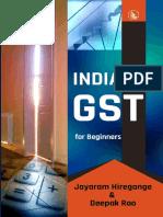 India GST for Beginners - Jayaram Hiregange