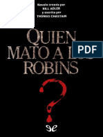 Quien Mato Robin