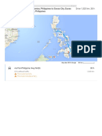 Abad Santos, Philippines to Davao City, Davao Del Sur, Philippines - Google Maps