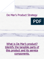 Chapter5-De Mar's Product Strategy