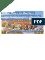 Nevada Impact of Trump's Proposed Elimination of Community Development Block Grants