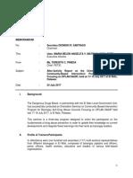 After-Activity Report BADAC, El Nido, Palawan