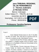 Português para o TRE-PE