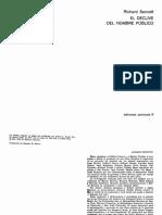 Richard Sennett. El Declive Del Hombre Publico (1974).pdf