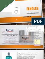 FENOLES y alcoholes quimica organica