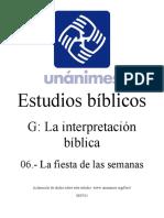 G.06.- La Fiesta de Las Semanas