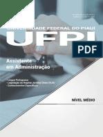 #Apostila UFPI - Assistente Em Administração (2017) - Nova Concursos