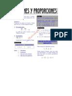 ARITMETICA - Razones y Proporciones III