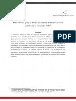 Financiamiento público de la ciencia en Chile