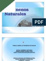 Fenomenos naturales
