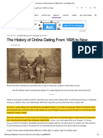 The History of Online Dating From 1695 to Now _ the Huffington Post