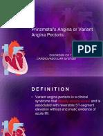 Variant Angina Pectoris