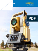 08111390801 jual total station topcon Os Series Broch 7010 2098 Revc Sm