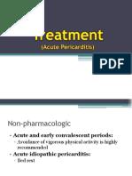 Treatment of Pericarditis
