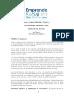 Bases Emprende Social 2017
