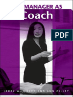 The Manager as a Coach