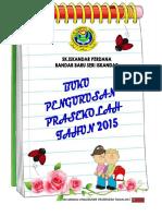 Buku Pengurusan Pra sekolah