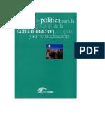 BASES POLITICAS PARA LA PREVENCIÓN DE LA CONTAMINACIÓN DEL SUELO