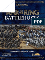 GW WotR Rules War of the Ring Battlehosts
