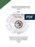 Transitivity and Pasivization Interface