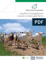 Managing Barn Manure on Dairy Goat Farms