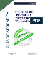Guia Disciplina Operativa II Disponibilidad