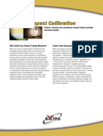 Impact Calibration