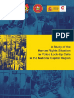 A Study of the Human Rights Situation in Police Lock Up Cell