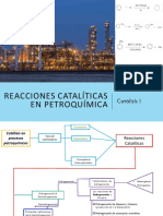 Reacciones Catalíticas en Petroquímica