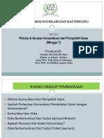 Prinsip Amalan Komunikasi Dari Perspektif Islam 1