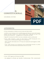 El Control Constitucional