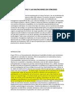 10. mutaciones p53 y càncer humano