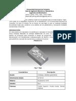 Plan de Manufactura Tapa