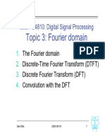 Digital Signal Processing L03 Fourier