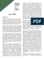 Uma história crítica do fotojornalismo ocidental - Jorge Pedro Sousa