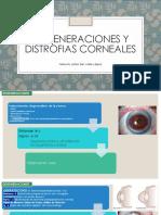 Degeneraciones y Distrofias Corneales