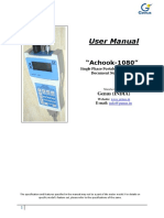 User Manual Achook-1080, G726A,UM0084_Latest