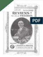 Reviens (Valse Lente) - Henri Christiné