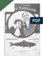 Elle Est Marseillaise - Fragson