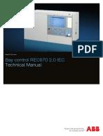 1MRK511311-UEN - En Technical Manual Bay Control REC670 2.0 IEC