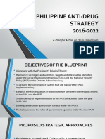 The New Philippine Anti-Drug Strategy 2017-2022