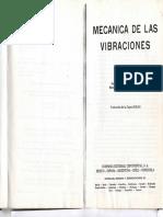 Mecanica de Las Vibraciones - j. p. Den Hartog