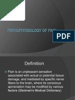 Patho. of Pain