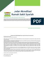 Standar Akreditasi Rumah Sakit Syariah
