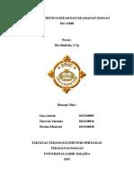Paper Praktikum Sanitasi Dan Keamanan Pangan