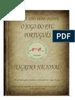 Livro O Jogo Do Pau Portugues Rev