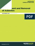 Removal of Asbestos Acop
