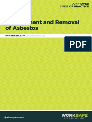 Removal Of Asbestos Acop Occupational Safety And Health Personal Protective Equipment Use the links below to learn more about this process and to view current rules open for comment or finalized rules. scribd