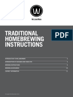 WW Traditional Homebrewing Instructions